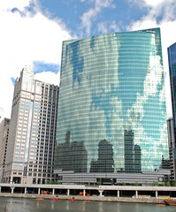Downtown Chicago Reflections