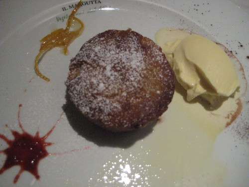 Rome. il margutta vegetarian restaurant