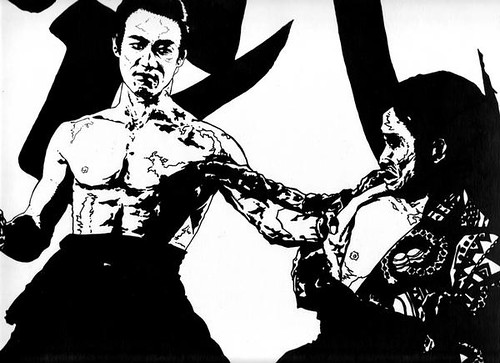 richard-serrao-bruce-lee-pen-and-ink