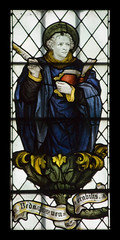 The Venerable Bede (Lawrence OP) Tags: detail church window glass monk stained oxford cowley venerable stjohntheevangelist doctorofthechurch kempe stbede