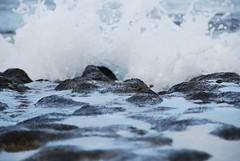 waves on rocks (rainbreaw) Tags: rocks surf kauai hanalei haena