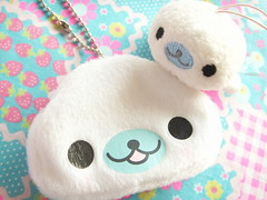 Kawaii Mamegoma Goods San-x Japanese Character Cute Japan (Kawaii Japan) Tags: baby white anime cute smile smiling animal japan asian toy happy japanese doll character small mini case goods plush mascot plushies ornament purse collections seal swap tiny kawaii plushie accessories collectibles swapping sanx coincase mamegoma kawaiiswap kawaiistuff japanesecharacer