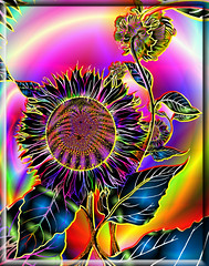 Unstill Life (dr_sequoia) Tags: flower glow sensational fractal visualart visionary thesuperbmasterpiece abovealltherest awardtree struckbyrainbow