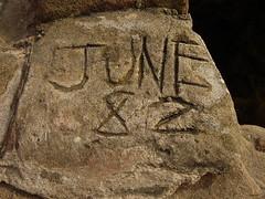 Date of my birth! (SomeDriftwood) Tags: photography photo picture wirral westkirby ajp hilbreisland deeestuary june1982 englishcoastline june82 westkirbybeach hoylakebeach wirralcoastline