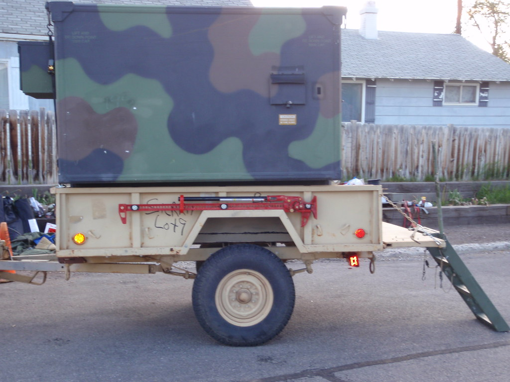 Innovative People Make Their Very Own Custom Setups For Camping All Of The Time, From Rooftop Tents, To Popups, And More This Camping Loving Family Decided To Really Take It Up A Notch By Converting An Old Military Trailer Into A Sweet Camping