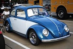 62 Custom VW Ragtop Beetle (TxPilot) Tags: show car vw bug volkswagen nikon texas muscle beetle plano d200 custom lowered monthly 62 ragtop