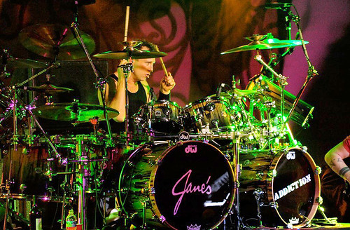 20090609 - Jane's Addiction - Stephen Perkins (playing drums) - (by Elizabeth Bouras) - 3615269301_5821a955aa_o