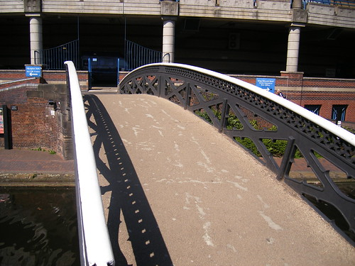 A bridge leading to the The NIA Birmingham