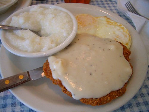 Blue Plate chicken fried steak