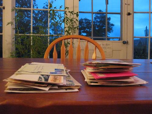 Backlog piles