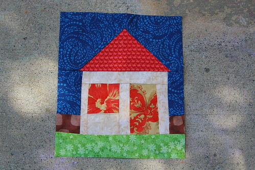House block - Cottage QB May