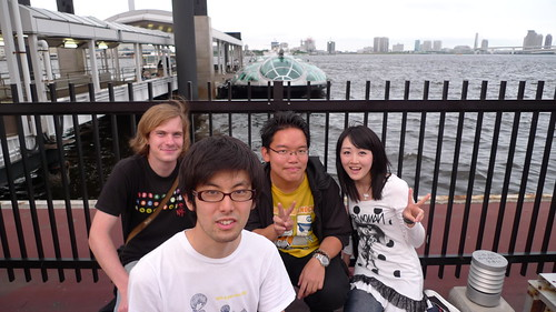 2nd group photo in front of Himiko waterbus