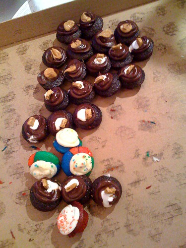 Baked by Melissa mini cupcakes