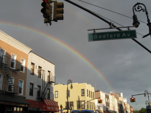 A Rainbow Grows in Brooklyn by BarkerBell Herbs and Heirlooms.