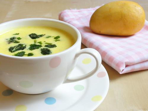 Mango buttermilk Kadhi 3