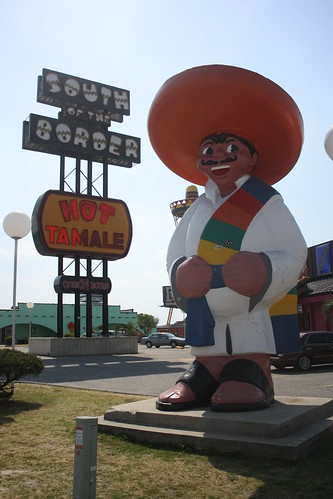 Pedro is one Hot Tamale! - South of the Border, SC