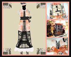 Eiffel Tower Dress Form Design