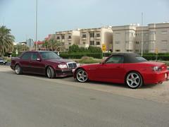 Red X Red (q8500e) Tags: auto red car honda wow germany mercedes benz cool nikon sl topless coolpix kuwait mb s2000 s10 q8 280sl w107 q8i q8500e redxred