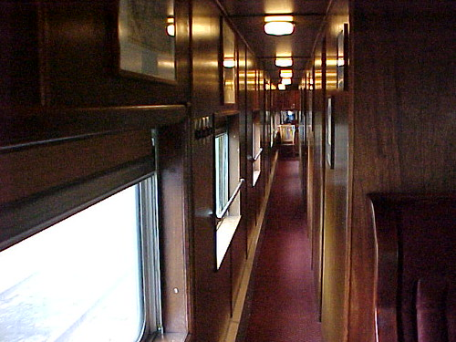 Private Rail Car - Promontory Point, corridor
