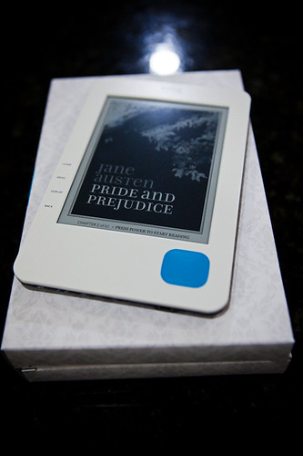 An image of my Kobo eReader