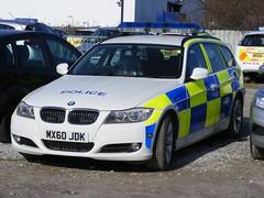 (1098) GMP - Greater Manchester Police - BMW 3 Series Tourer - MX60 JDK (Call the Cops 999) Tags: road 3 manchester march police led bmw series greater complex gmp battenburg workshops unit tourer rpu lightbar 2011 policing openshaw mx60jdk