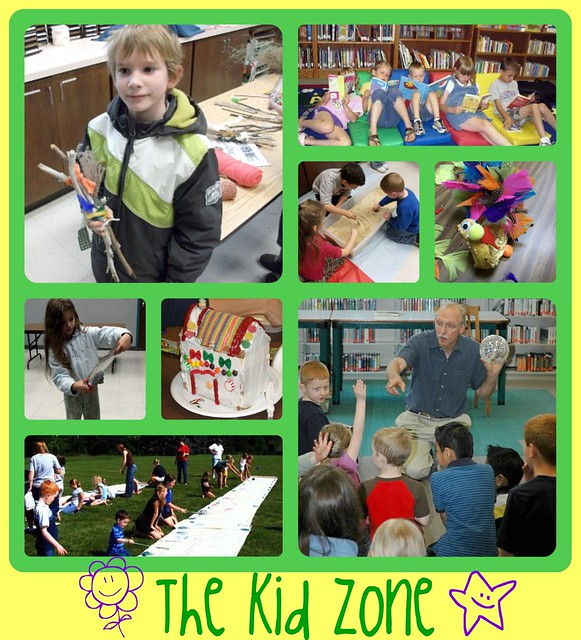 Kid Zone wijmo collage