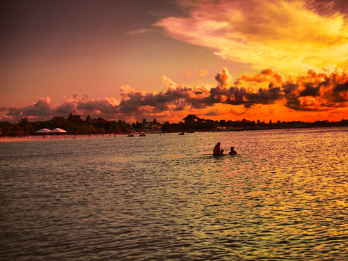 Cancun Sunset #2 by teacherjoseluis