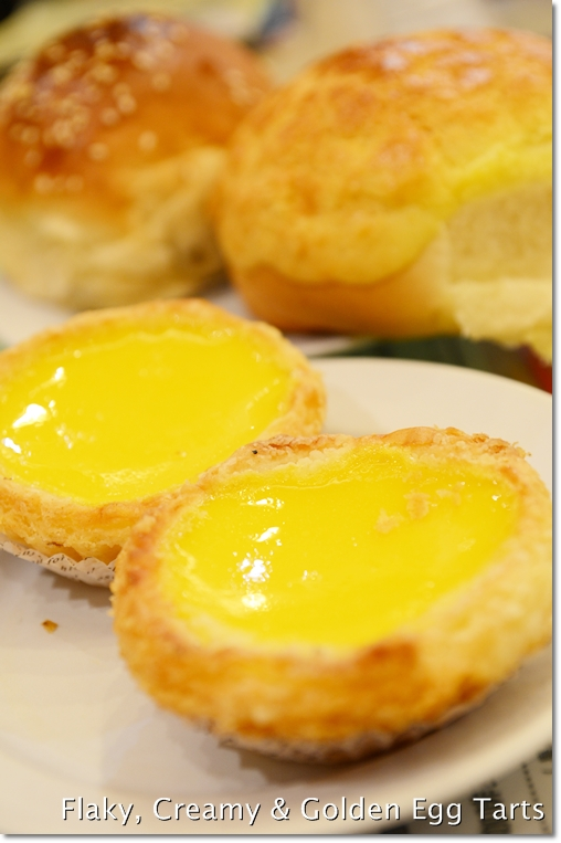 Egg Tarts @ Honolulu Coffee Shop