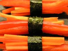 Carrot and Pepper Sticks
