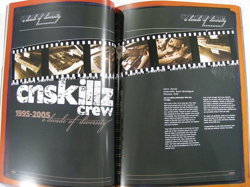 10 years Cnskillz Crew Special @ Graphotism Magazine