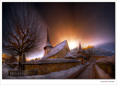 Rougemont Church (Switzerland) - HDR (Eric Rousset) Tags: voyage travel panorama church photoshop landscape photography switzerland europe raw village suisse sony sigma wideangle adobe 1020mm glise 2009 hdr highdynamicrange photomanipulated hoya rougemont cs3 postprocessing photomatix sigma1020 supershot tonemapping outstandingshots sigma1020mmf456exdc alpha100 sonydslra100 infinestyle bratanesque theunforgettablepictures piproduction ericrousset hdraward alemdagqualityonlyclub hoyamoosesfilterwarmcircularpolarizer obramaestra
