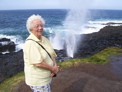 windy day (Gemma_Anne) Tags: ocean blowhole kiama2009