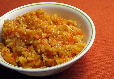 Carrot Parmesan Risotto