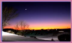 Santa Fe Sky II (Maria Najaka) Tags: sunset skies dusk picnik top20nm