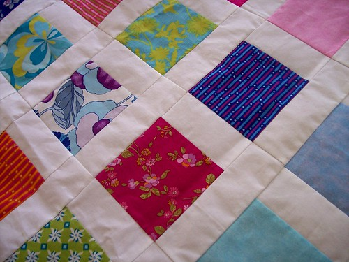Quilt from Charm Pack CIose Up