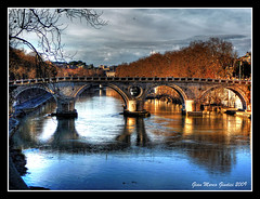 Roma - Ponte Sisto (gianmarco giudici) Tags: italy roma reflection river lumix photo amazing fiume group trastevere tevere reflexions autunno 2009 hdr pontesisto urbe the isolatiberina abigfave worldbest flickraward colourartaward platinumheartaward nginationalgeographicbyitalianpeople tz5 thebestshot vanagram colorsofthesoul artofimages gianmarcogiudici bestcapturesaoi mygearandmepremium mygearandmebronze rememberthatmomentlevel4 rememberthatmomentlevel1 rememberthatmomentlevel2 rememberthatmomentlevel3 rememberthatmomentlevel5