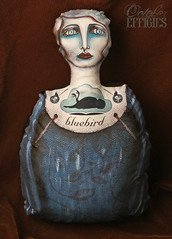 blue bird doll