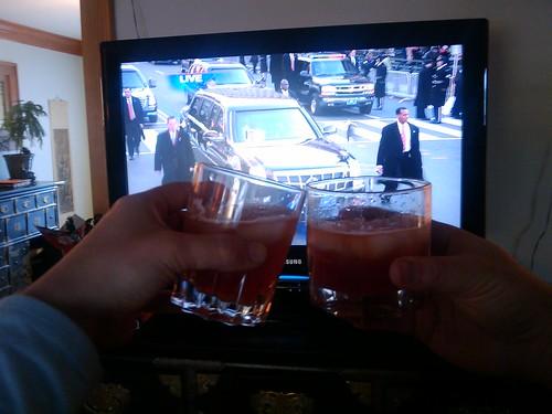 sazerac to toast the president