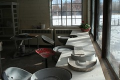 Ceramic Classroom at the Bray (MaureenShaughnessy) Tags: studio montana ceramics quiet classroom peaceful helena stillness artstudio helenamontana ceramicstudio archiebrayfoundation ceramicarts residencies lifeofanartist beforetheclassstarts aroundhelena oneofmyfavoriteplacestowalk thebray