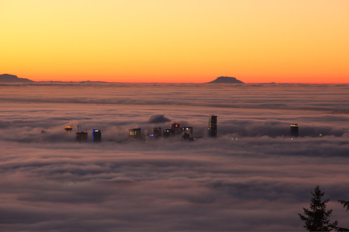 Vancouver in the Fog
