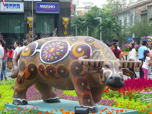 Year of the Ox Statue