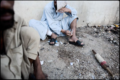 Addiction to Heroin (http://www.achillepiotrowicz.com/) Tags: poverty pakistan asia peshawar heroin pk karachi desperation injection nwfp lahore islamabad rawalpindi heroinaddict muslimworld westasia pakistantochina goldencrescent edhifoundation afghanistantopakistan dostfoundation addictiontoheroin drugstrafficking heroinanddesperation heroinandhomeless heroininmovement heroinsmoker heroinstrafficking