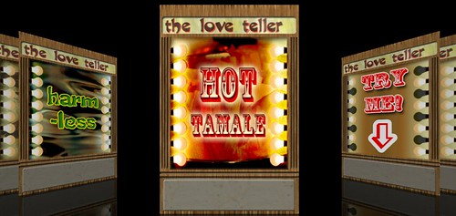 Love Teller screens