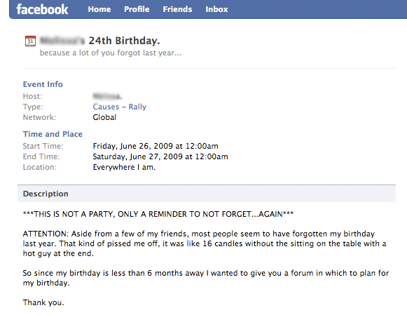 This Is Not A Party Only A Reminder To Not Forgetagain - Birthday party invitation reminder