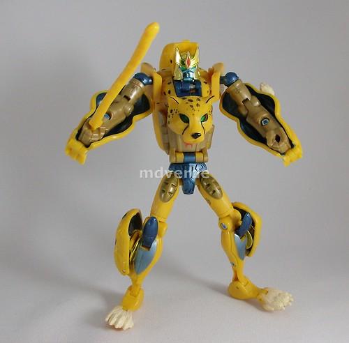 Transformers Cheeta (Cheetor) Classics Henkei - modo robot (by mdverde)