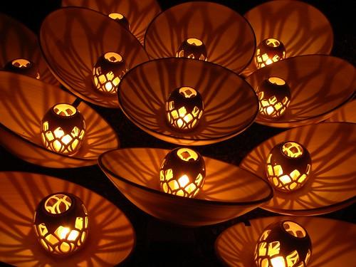 吉野「吉野桜燈火」