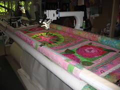 Longarm quilting start to finish