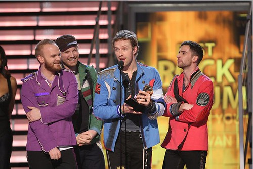 Coldplay viva la vida grammy