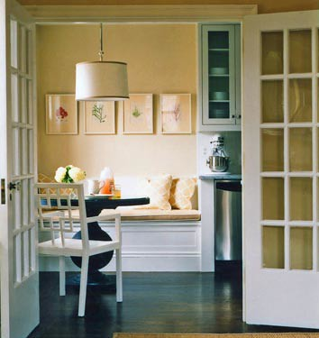 from the desk of annie: kitchen seating