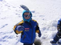 Fisher Dude (Sammie-J) Tags: jordan icefishing february2009